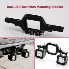 Off-Road 4x4 SUV Tow Hitch Lamp Dual Leds Reverse Rear Lights Mounting Bracket