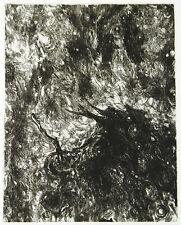 """DDR-arte. """"il cielo"""", 1986. Osmar Oriente (B. Münzner * 1959 D) firmato a mano"""