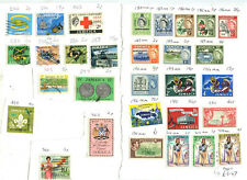 Jamaica Post-Independence used stamps - 110+ of them