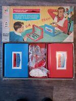 Milton Bradley BATTLESHIP Vintage 1967 1St EDITION Board Game Complete Set