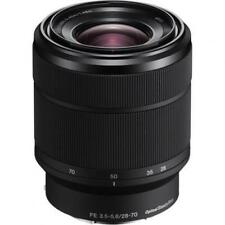 Auto & Manual Zoom Standard Lenses for Sony Cameras