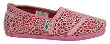 Toms Classic Slip On Textile Youth Boys Girls Shoes