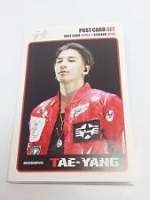 Tae Yang TaeYang BIGBANG Postcard Set + Sticker YG Family KPOP Post Card K-POP