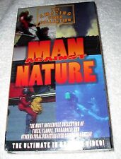 Man Against Nature vhs tape - NEW; sealed; 1996