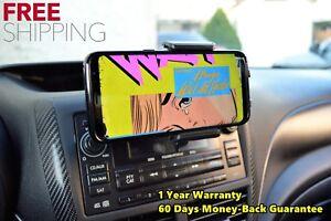 360° Car CD Slot Mount Bracket Mobile Cell Phone Holder For iPhone Samsung & GPS