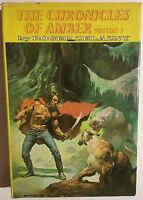 CHRONICLES OF AMBER by Roger Zelazny (volume 1) Nelson Doubleday HC Boris cover
