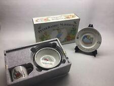 Wedgwood Peter Rabbit 3 Piece Nursery Set Mug Plate Oatmeal