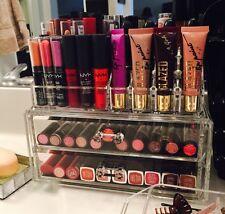 2-Piece Acrylic Make-Up Organizer With 2-Drawers