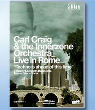 CARL CRAIG and INNERZONE ORCHESTRA Live In Rome DVD Techno Is Ahead Of This Time