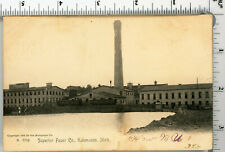 Ep07 Postcard 1900'S Superior Paper Co Kalamazoo Mich 574A