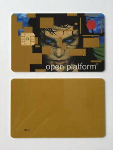 Schlüsselkarte Goldwafer Smartcard Goldcard Funcard Prozessorkarte Sammler -NEU-
