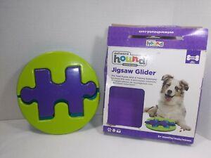 Outward Hound Jigsaw Glider Dog Toy 6+months