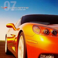 2007 COUPE CORVETTE LS2 - DEALER BOOK BROCHURE - C6 07 CHEVROLET Z51 - NEW SET