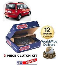FOR FIAT PANDA 1.1 1.2 8V 2003-->ON NEW 3 PIECE CLUTCH KIT COMPLETE *OE QUALITY*