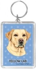 YELLOW LAB KEYRING ** AUSSIE SELLER ** 5 X 7 IN SIZE