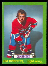 1973-74 OPC O PEE CHEE #181 JIM ROBERTS NM MONTREAL CANADIENS HOCKEY CARD