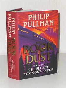 SIGNED 1st Print with Samplers The Secret Commonwealth Philip Pullman H/B