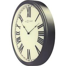 Nextime Houdini 3D Wanduhr Küchenuhr Uhr Bürouhr Wohnzimmeruhr Glas antik