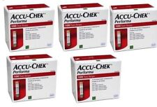 Accu Chek Performa 200 Test Strips 2 Boxes 100 Each Expiry May 2021