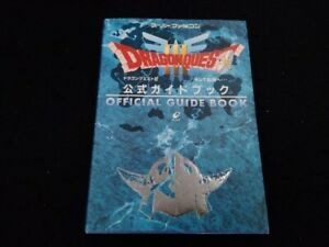 DRAGON QUEST III 3 Official Guide Book Used