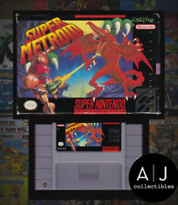 Super Metroid SNES Super Nintendo COMPLETE! BOX MANUAL CARTRIDGE! TESTED!