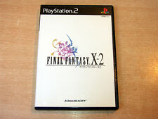 PS2 / Playstation 2 - Final Fantasy X-2 by Squaresoft