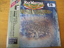 RICK WAKEMAN JOURNEY TO THE CENTRE OF THE HEARTH CD MINT-  DIGIPACK JAPAN