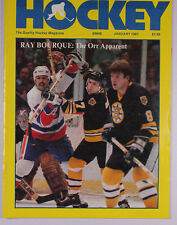 Hockey, January 1981 Cover features Ray Bourque. The Orr Apparent - Bobby M54