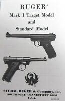Sturm Ruger Mark I Target Model Standard Manual