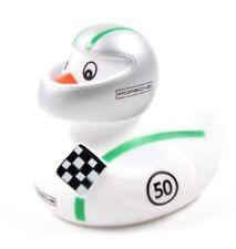 PORSCHE Badeente Ente Car Racer Duck 911R Modern WEISS GRÜN