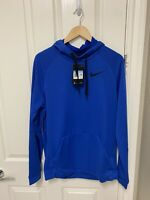 New Mens Nike Therma Training Pullover Hoodie Dri Fit Sz M