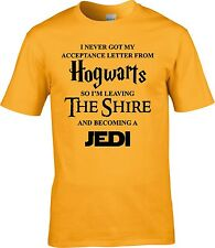 Harry Potter Lord Of The Rings LOTR Star Wars Funny T Shirt
