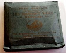 Gramophone needles HIS MASTER'S VOICE pacchetto di puntine da grammofono   11/16