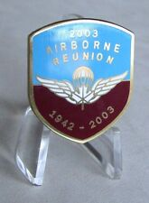 Canadian Airborne Paratrooper 1942- 2003 Reunion Lapel Pin