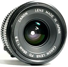 Canon 28mm F2.8 Wide Angle Prime Lens FD Fit UK Fast Post