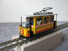 """Spur S """" Trambino """" Straßenbahn, motorisiert und mit Frontbeleuchtung"""