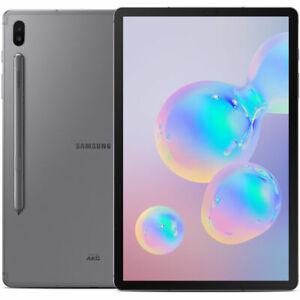 "Samsung SM-T860NZALXAR 10.5"" Galaxy Tablet S6 256GB Gray - Certified Refurbished"