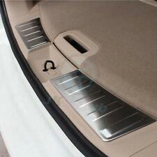 For Nissan X-Trail Rogue 2014-19 Steel Inner Rear Bumper Guard Sill Cover Trim o