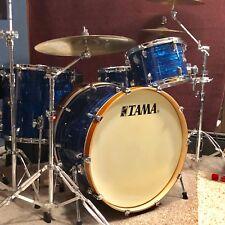 Tama Superstar Classic drum set kit ROCK sizes 4 piece Blue Onyx maple shells