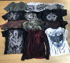 Lot Of 12 -Affliction Men's T-Shirt Extreme Couture Title MMA Collection Size L