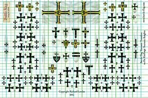 Fireforge Games Teutonic Knights Shield and flags Transfers by Battle Flag.