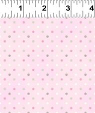 Guess How Much I Love You Pink with Polka Dots Fabric FQ + More  100% Cotton