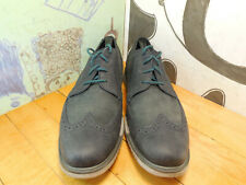 Cole Haan Grande Os Gray Leather Wingtip Oxfords Men's 13M #C20231