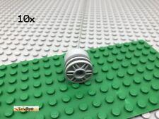 LEGO® 10Stk Hellgrau 55981 Technic Felge Rad Reifen Wheel Rolle