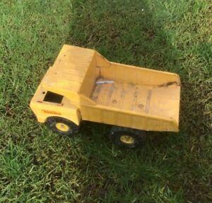 Vintage Tonka Pressed Metal Tip Truck Toy