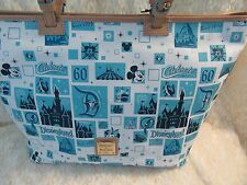 DISNEYLAND Dooney Bourke 60th Diamond Anniversary Shopper Tote NEW collectors
