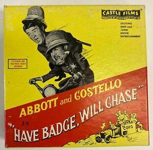 """ABBOTT & COSTELLO"" 8mm FILM"