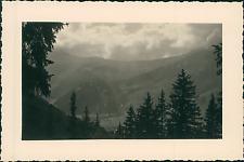 France, les Contamines-Montjoie, le Col du Joly  Vintage silver print Tirage