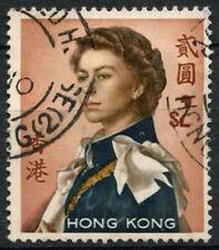 Hong Kong 1962-73 SG # 207, $2 wmk verticale QEII definitivo GESSO Carta utilizzata #D 21132