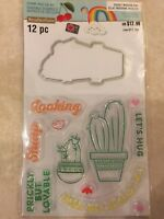 Sweets Stamp /& Die Set by  Clear Stamp and Die Set By Recollections 545453 NEW